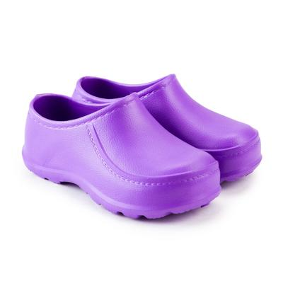 Галоши детские, цвет фиолетовый, размер 33