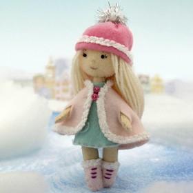 Набор для создания куклы из фетра «Малышка Люси» серия «Подружки»
