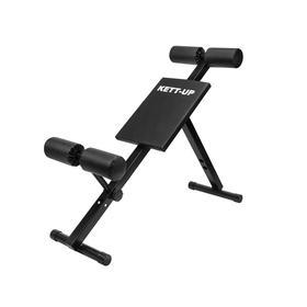 Скамья KETT-UP KRAFT для тренировки спины (гиперэкстензия) и пресса Ош