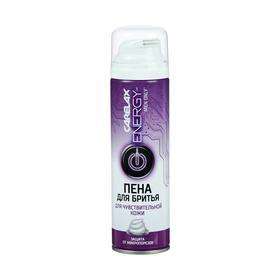 Пена для бритья Carelax Energy Extra Sensitive для чувствительной кожи, 200 мл