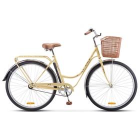 Велосипед 28' Stels Navigator 325, Z010, цвет слоновая-кость/коричневый, размер 20' Ош