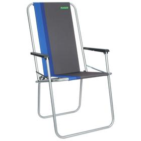 Кресло складное К 302, 52 х 56 х 90 см, цвет blue Ош