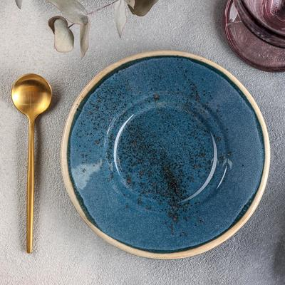 Блюдце универсальное Хорекс Blu reattivo, d=15 см, h=2 см