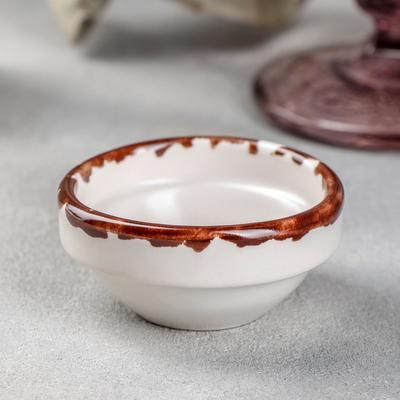 Соусник Хорекс Antica perla, d=6 см, h=2,5 см, 30 мл