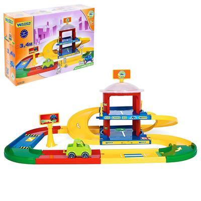 Гараж Kid Cars 3D, 2 этажа - Фото 1