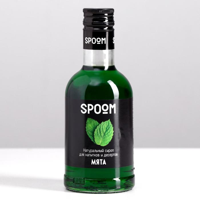 Cироп Spoom «Мята», 0,25 л
