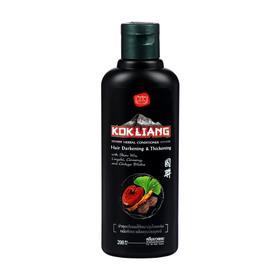 Натуральный кондиционер Kokliang бессульфатный, травяной, для тёмных волос, 200 мл