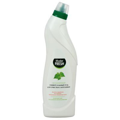 Экологичный гель для очистки сантехники Master FRESH, 750 мл - Фото 1