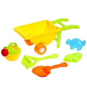 Песочный набор «Малыш садовник», 6 предметов