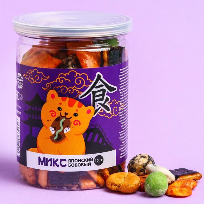 Микс японский бобовый «Кот», 100 г.