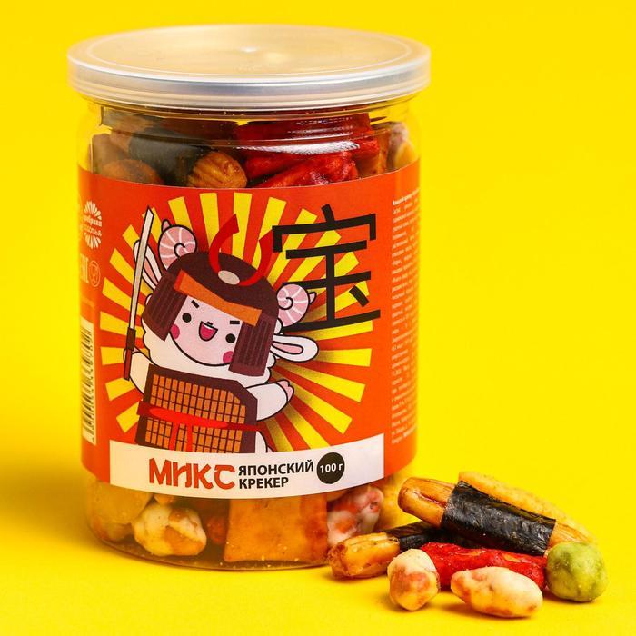 Микс японский крекер «Заяц», 100 г.