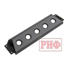 Защита радиатора под бампер РИФ для ГАЗ Соболь лифт +50 мм Ош