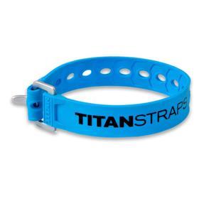 Ремень крепёжный TitanStraps Super Straps голубой L = 36 см (Dmax = 9,5 см, Dmin = 3,2 см) Ош