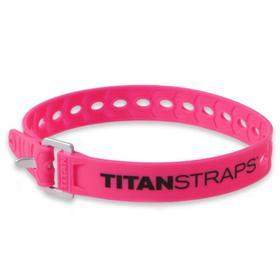 Ремень крепёжный TitanStraps Super Straps розовый L = 46 см (Dmax = 12,7 см, Dmin = 3,2 см)   676192 Ош