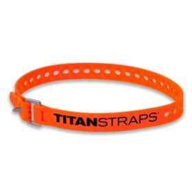 Ремень крепёжный TitanStraps Super Straps оранжевый L = 64 см (Dmax = 18,4 см, Dmin = 4,5см)   67619 Ош