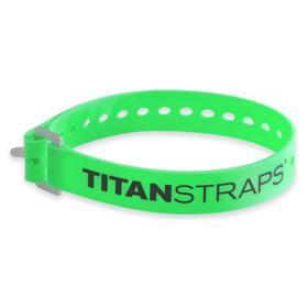 Ремень крепёжный TitanStraps Industrial зеленый L = 51 см (Dmax = 14,15 см, Dmin = 5,5 см) Ош