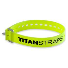 Ремень крепёжный TitanStraps Industrial желтый L = 51 см (Dmax = 14,15 см, Dmin = 5,5 см) Ош