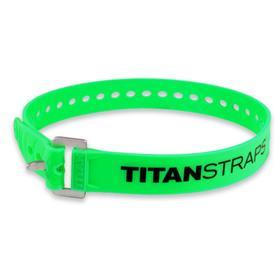Ремень крепёжный TitanStraps Industrial зеленый L = 64 см (Dmax = 18 см, Dmin = 5,5 см) Ош