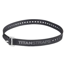 Ремень крепёжный TitanStraps Industrial черный L = 76 см (Dmax = 22,6 см, Dmin = 5,5 см) Ош