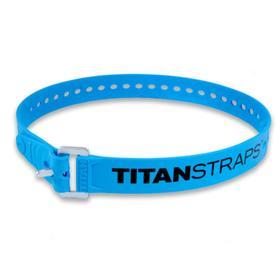 Ремень крепёжный TitanStraps Industrial голубой L = 76 см (Dmax = 22,6 см, Dmin = 5,5 см) Ош