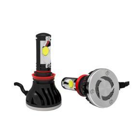 Лампы светодиодные HB4 9006 12V-24V 24W с вентилятором (к-т 2 шт.) Ош