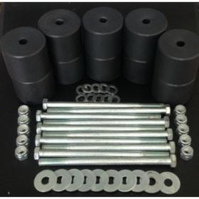 Боди лифт комплект 65 мм УАЗ Патриот капролон (d=70 мм) с крепежом, черный цвет Ош