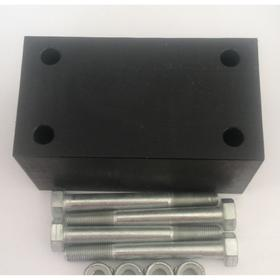 Проставка рессора-рама под серьгу УАЗ 40 мм капролон (с крепежом) Ош