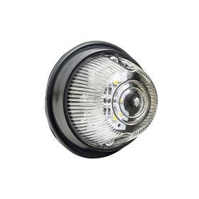 Повторитель поворота УАЗ на светодиодах (белый рассеиватель) 6LED-1-12V Ош