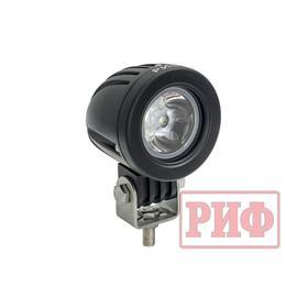 Фара дальнего света РИФ 57 мм 10W LED Ош