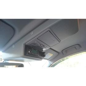 Консоль потолочная для установки р/c Mitsubishi L200/Pajero Sport вырез 140х40 мм, серая Ош