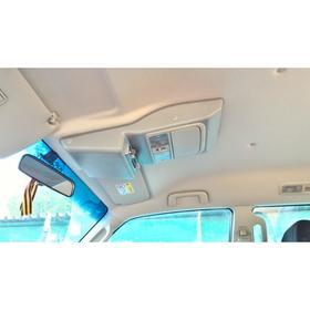 Консоль потолочная для установки р/c Mitsubishi Pajero IV, вырез под р/c 140х40 мм, серая Ош