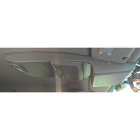 Консоль потолочная для установки р/c Toyota Hilux 2005-2014, без выреза под р/c, серая Ош