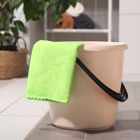 Тряпка для мытья пола Master Fresh, 50×60 см, микрофибра, цвет зелёный