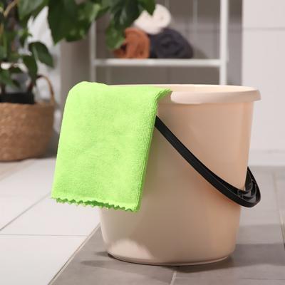Тряпка для мытья пола Master Fresh, 50×60 см, микрофибра, цвет зелёный - Фото 1