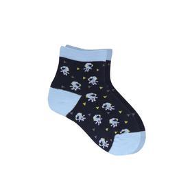 Носки детские, цвет синий, размер 18
