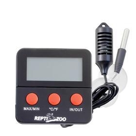 Термогигрометр электронный с двумя датчиками, 6 х 6 х 1 см Ош