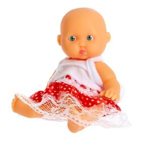 Пупс «Саша», в платье Ош