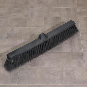 Щётка тротуарная АКОР «Фоджа», 60×14×6 см, цвет чёрный