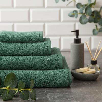 """Полотенце махровое """"Этель"""" Organic Eucalyptus 70х130 см, 100% хл, 420гр/м2 - Фото 1"""