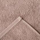 """Полотенце махровое """"Этель"""" Organic Stone 100х150 см, 100% хл, 420гр/м2 - Фото 4"""
