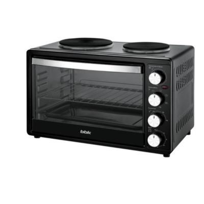 Мини-печь BBK OE 3071 M-2 P, 1500 Вт, 30 л, гриль, таймер, чёрная - Фото 1