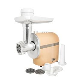 Мясорубка Beon BN-2100, 2500 Вт, 2 кг/мин, 3 решетки 3/5/7мм, насадка для колбас, бежевая