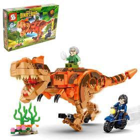 Конструктор Мир динозавров, 390 деталей