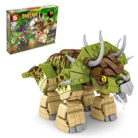 Конструктор Мир динозавров, 735 деталей