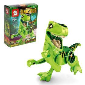 Конструктор Мир Динозавров, 8 видов, МИКС