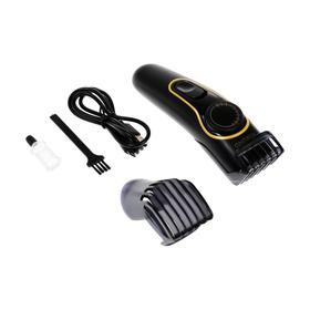 Машинка для стрижки ENERGY EN-741, 3 Вт, 1 насадка, 1-12 мм, сталь, АКБ, чёрная Ош