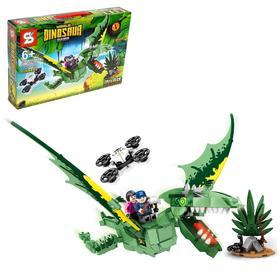 Конструктор Мир динозавров, 352 детали