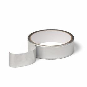 Лента герметизирующая, клейкая, 25 мм × 10 м, алюминиевая, для поликарбоната от 4 до 8 мм Ош