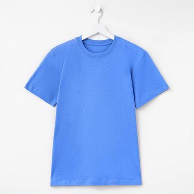 Футболка мужская однотонная Collorista цвет голубой, р-р 54