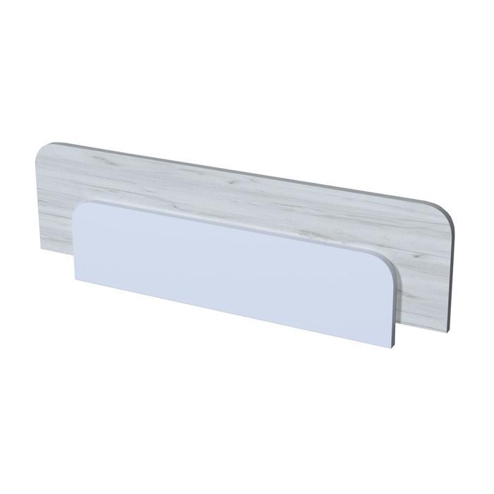 Бортик защитный «Бриз», 900 × 48 × 294 мм, цвет дуб эльза / белый